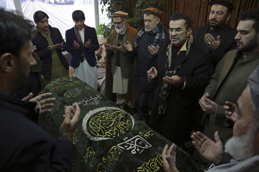 Former Afghan president dies at 93 | The Columbian