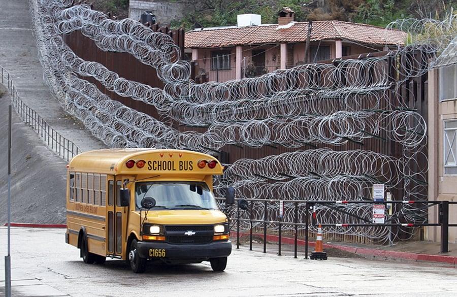 Arizona City Officials Decry New Razor Wire On Border Wall
