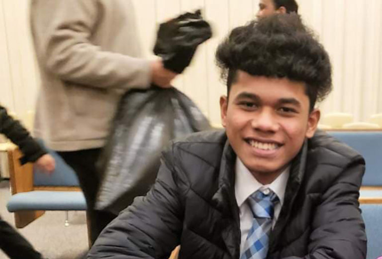 Clayton Joseph, 16, of Vancouver was fatally shot by Vancouver police on Feb. 19. (Provided photo)