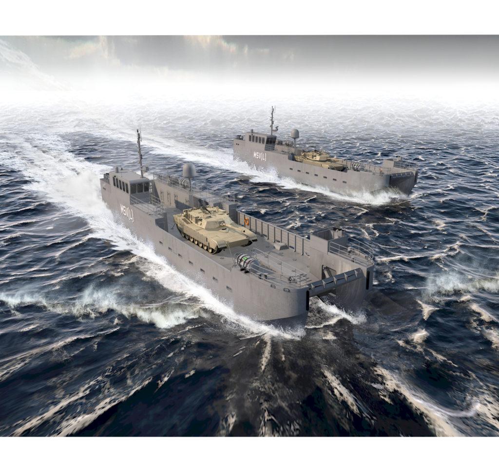Shipbuilder Vigor Picks Vancouver For Army Landing Craft