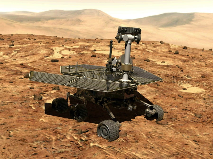 NASA about to pull plug on Mars rover | The Columbian