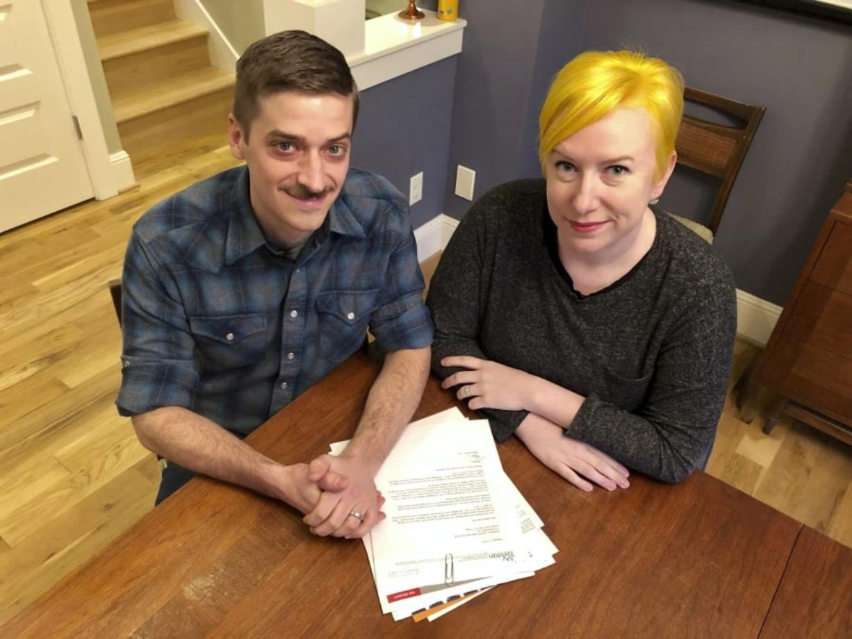 Andy Kraft and Amy Elias of Portland got a small refund last year, but this year the couple found they owe more than $10,000 in taxes.