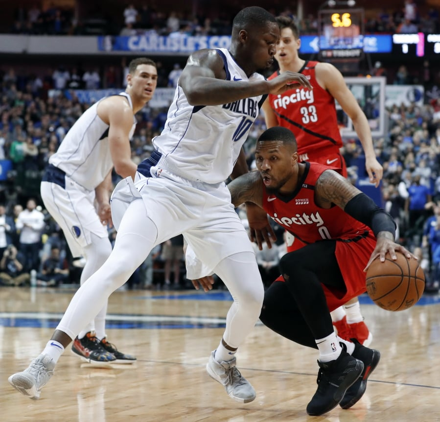 Portland Trail Blazers Basketball: Blazers Go Dry In Fourth As Mavericks Win