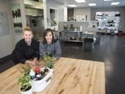 Shelene Rice, left, and Marilyn Roseburrough, co-owners of Perfect Dish Kitchen in Vancouver spent about $30,000 on the preparation and equipment in their commercial kitchen.