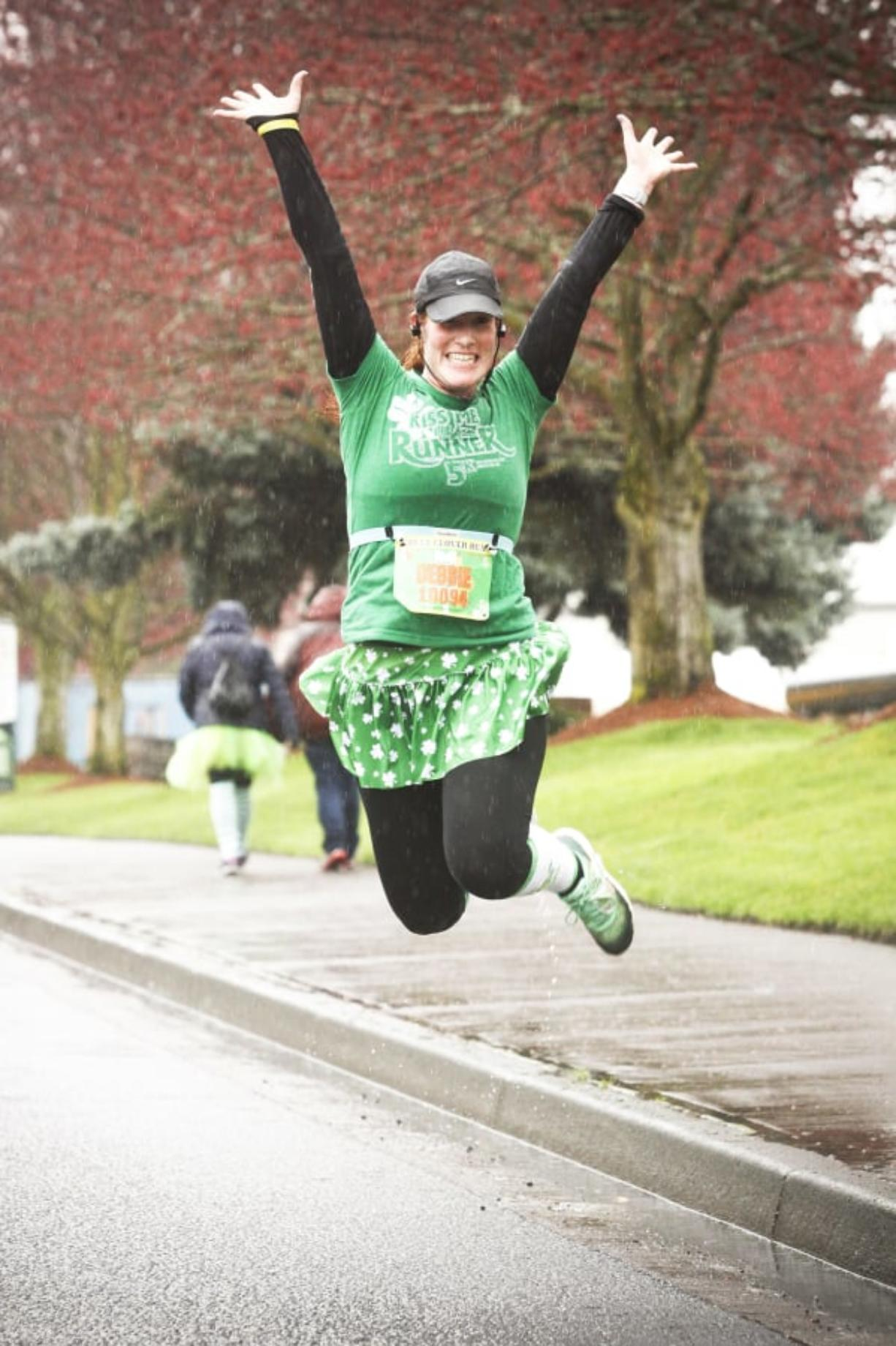 Dress in your snazziest green and come out to join the fun at the Couve Clover Run March 24. Contributed photo