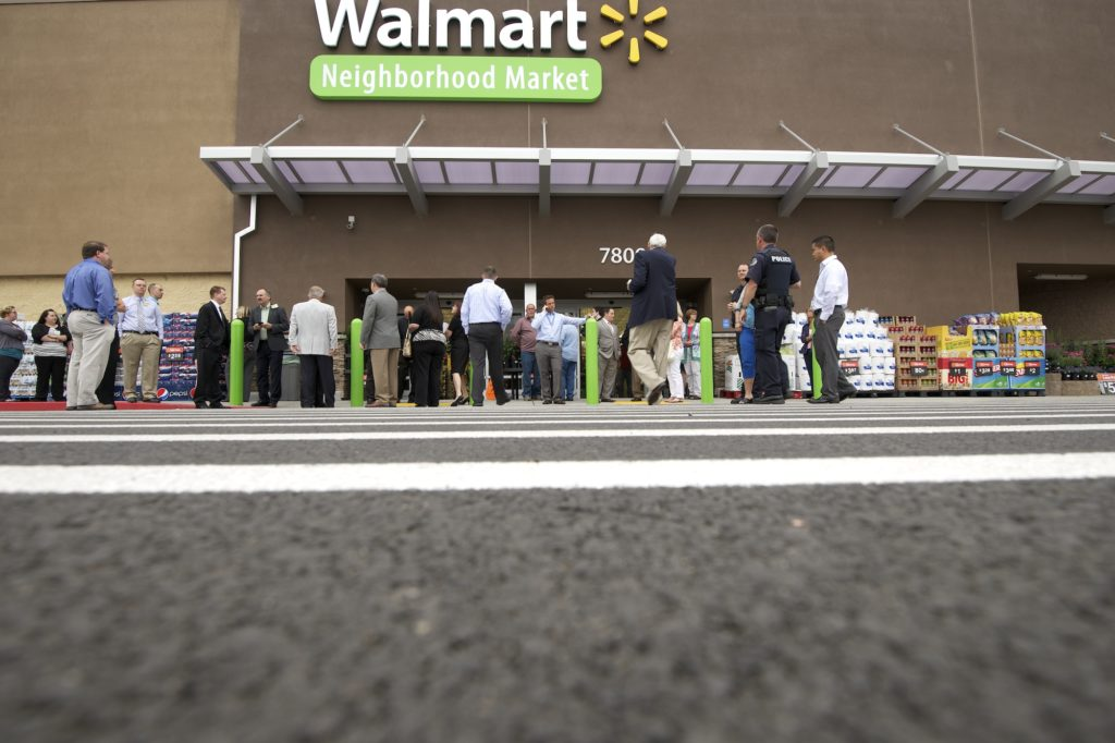 The Walmart Neighborhood Market In Vancouver PLaza Opened July 17 2013 Announced Wednesday