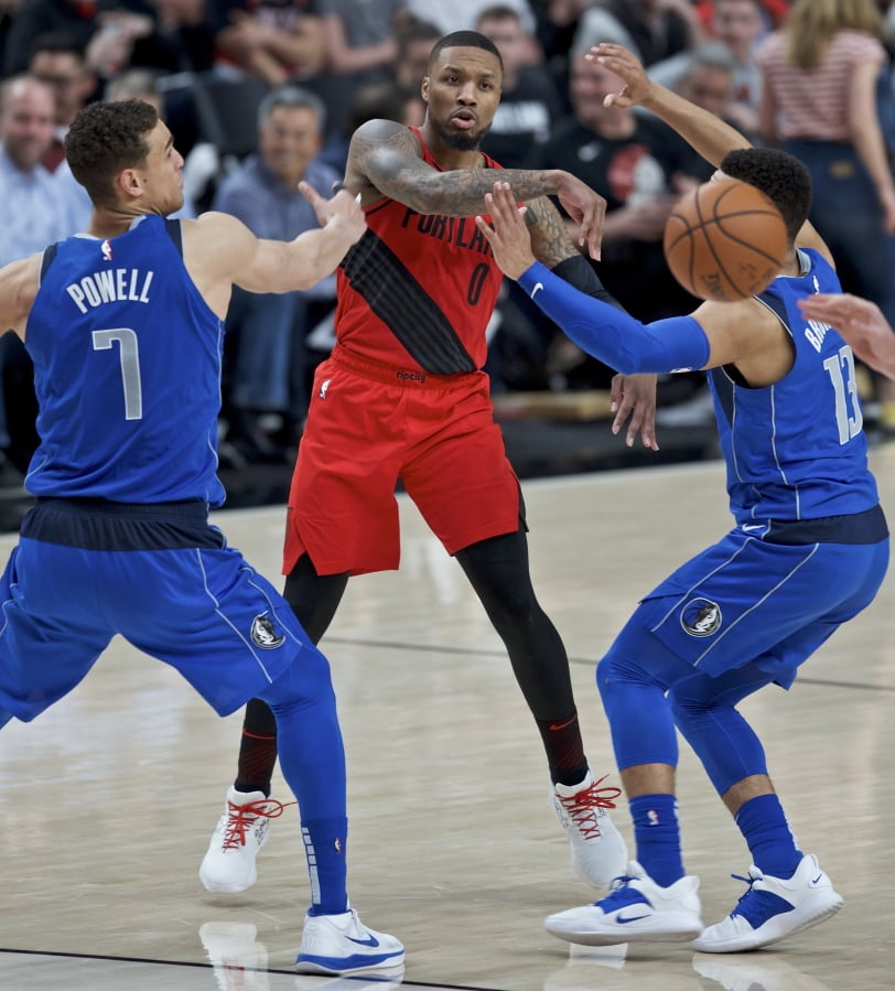 Portland Trail Blazers Basketball: Lillard Scores 33 As Blazers Beat Mavs