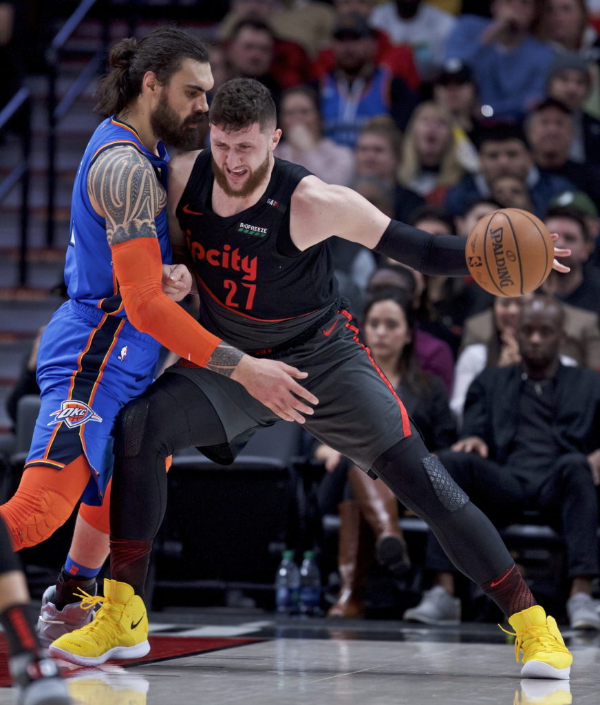 Thunder Get Wild OT Victory Over Trail Blazers