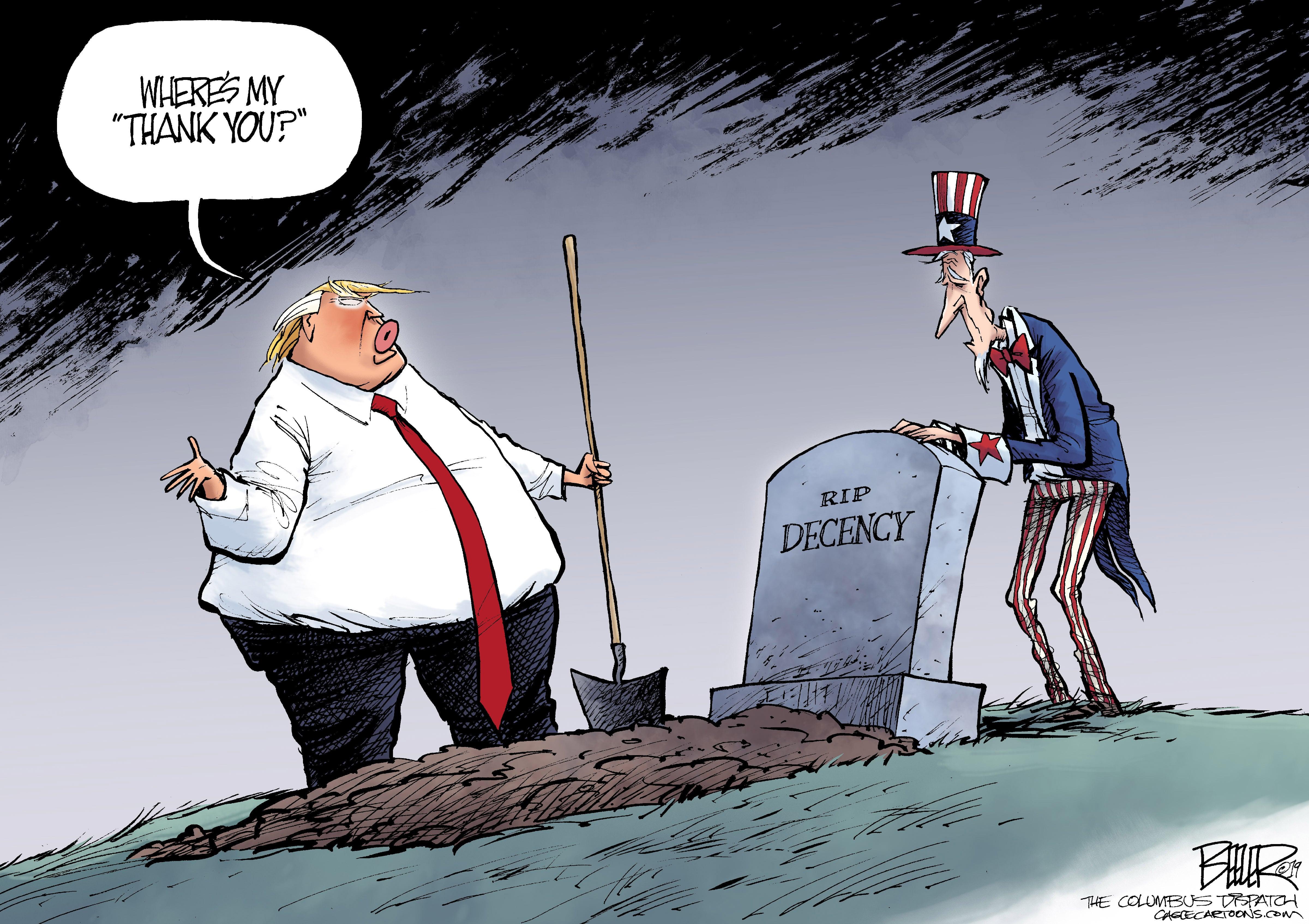 March 23: Trump And Decency
