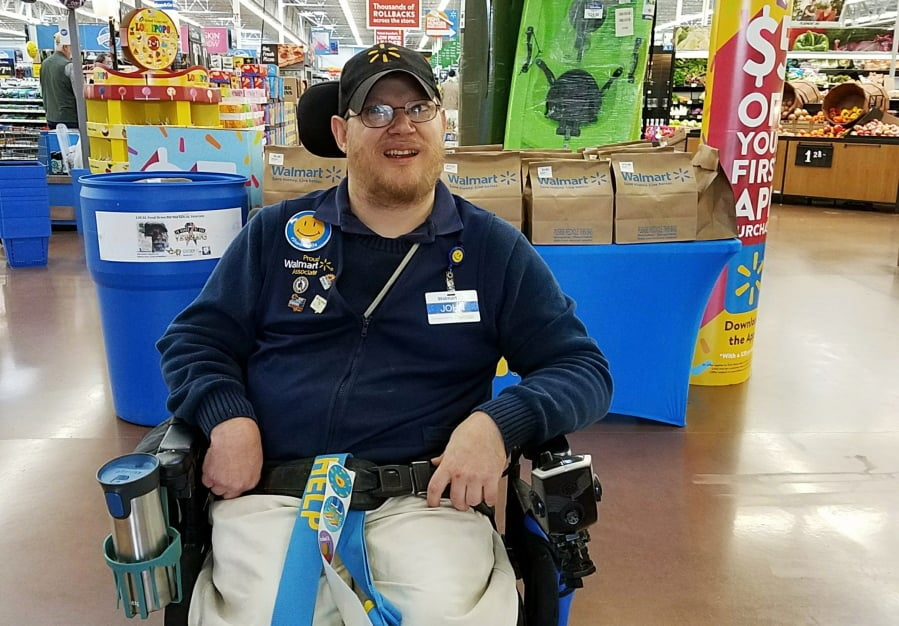 Disabled Greeters Accept New Roles at Walmart