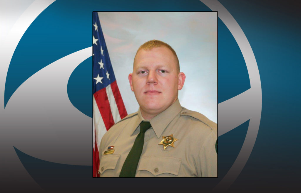 d67ef9bc6ed Cowlitz County Sheriff s Deputy Justin DeRosier was shot and killed  Saturday while contacting a
