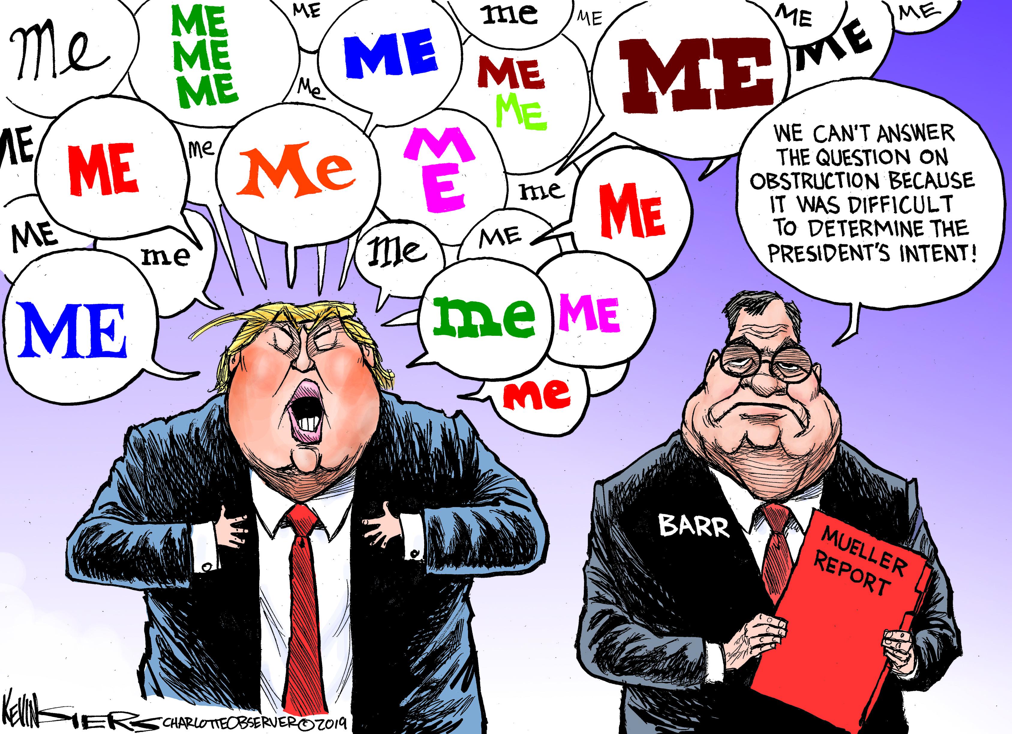 April 20: Trump Obstruction