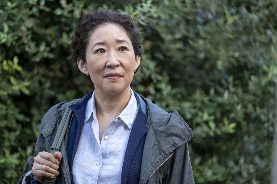 "1c72813e322 Sandra Oh stars as Eve Polastri in ""Killing Eve."" Nick Wall/BBC"