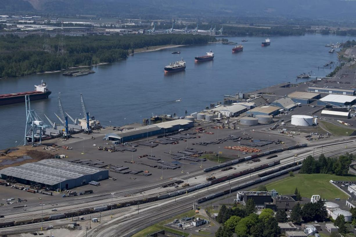 The Port of Vancouver (The Columbian files)
