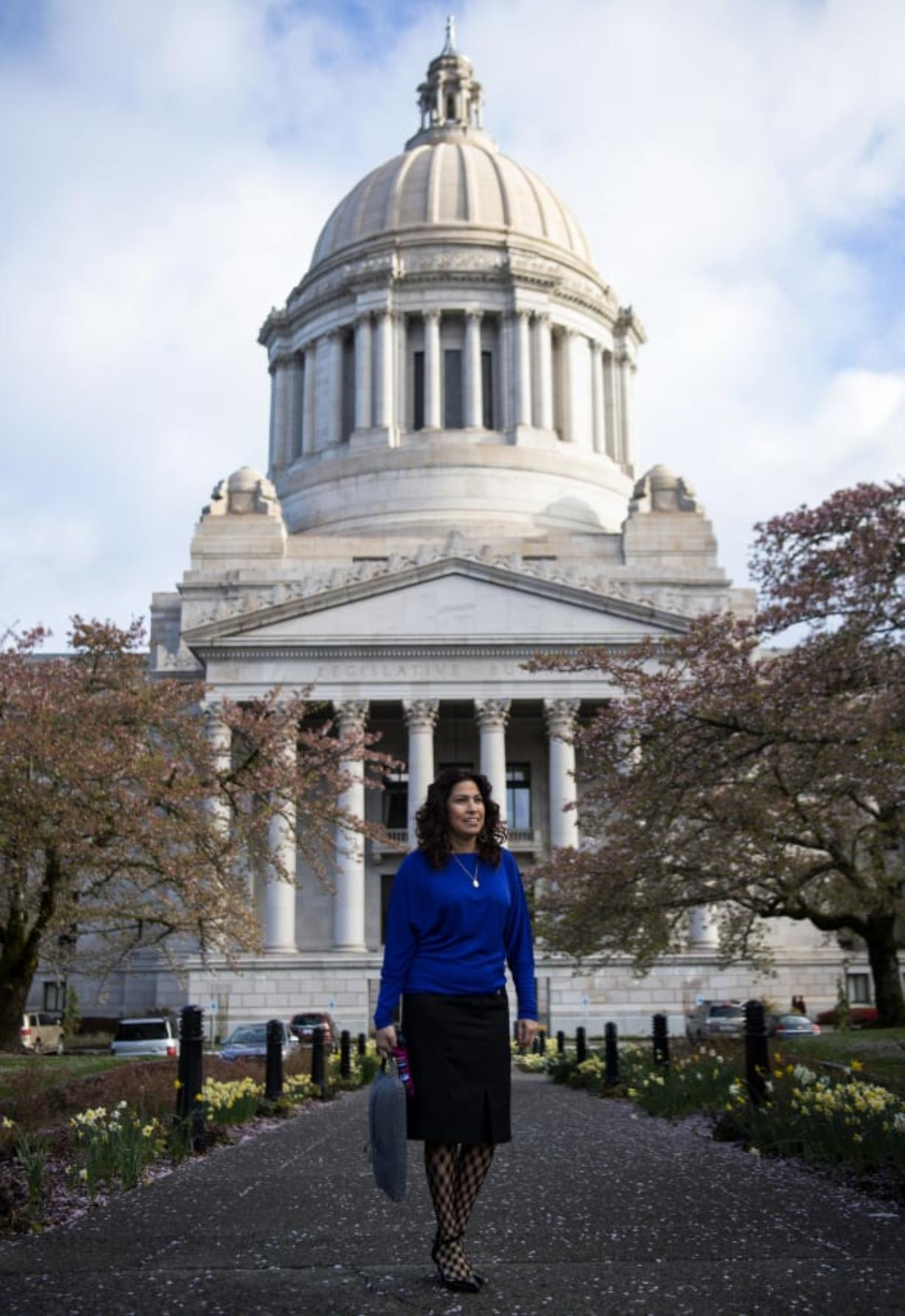 Rep. Monica Stonier, D-Vancouver, is one of several candidates vying to succeed House Speaker Frank Chopp.