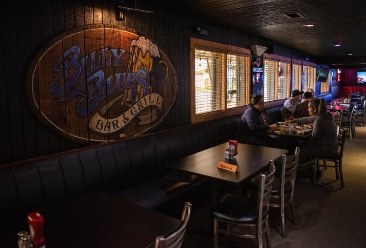 Billy Blues Bar & Grill is a great Hazel Dell hangout.