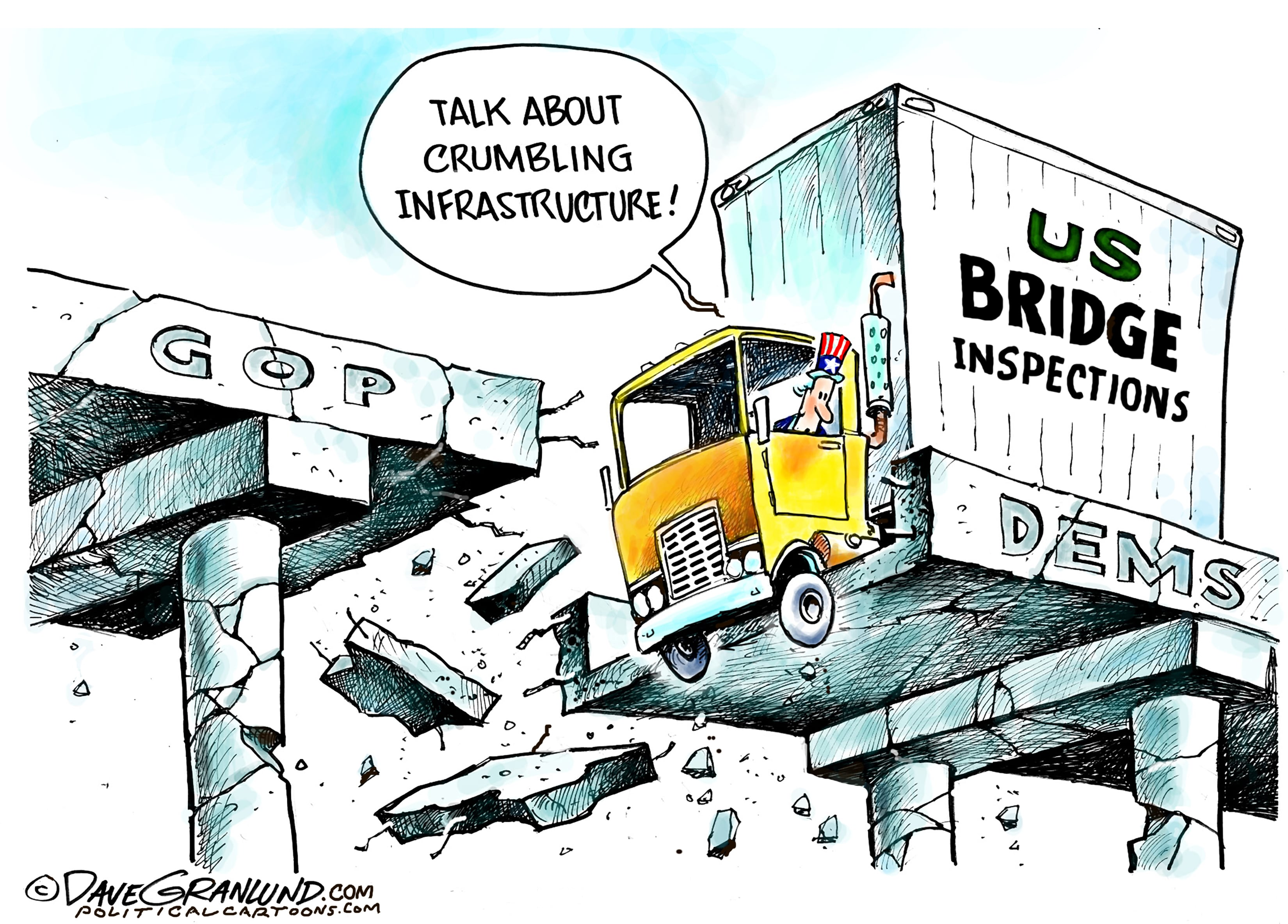 April 6: Crumbling Infrastructure