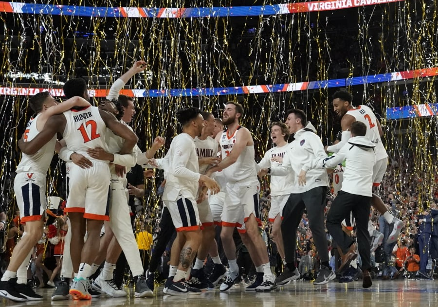 Virginia topples Texas Tech to claim US college title