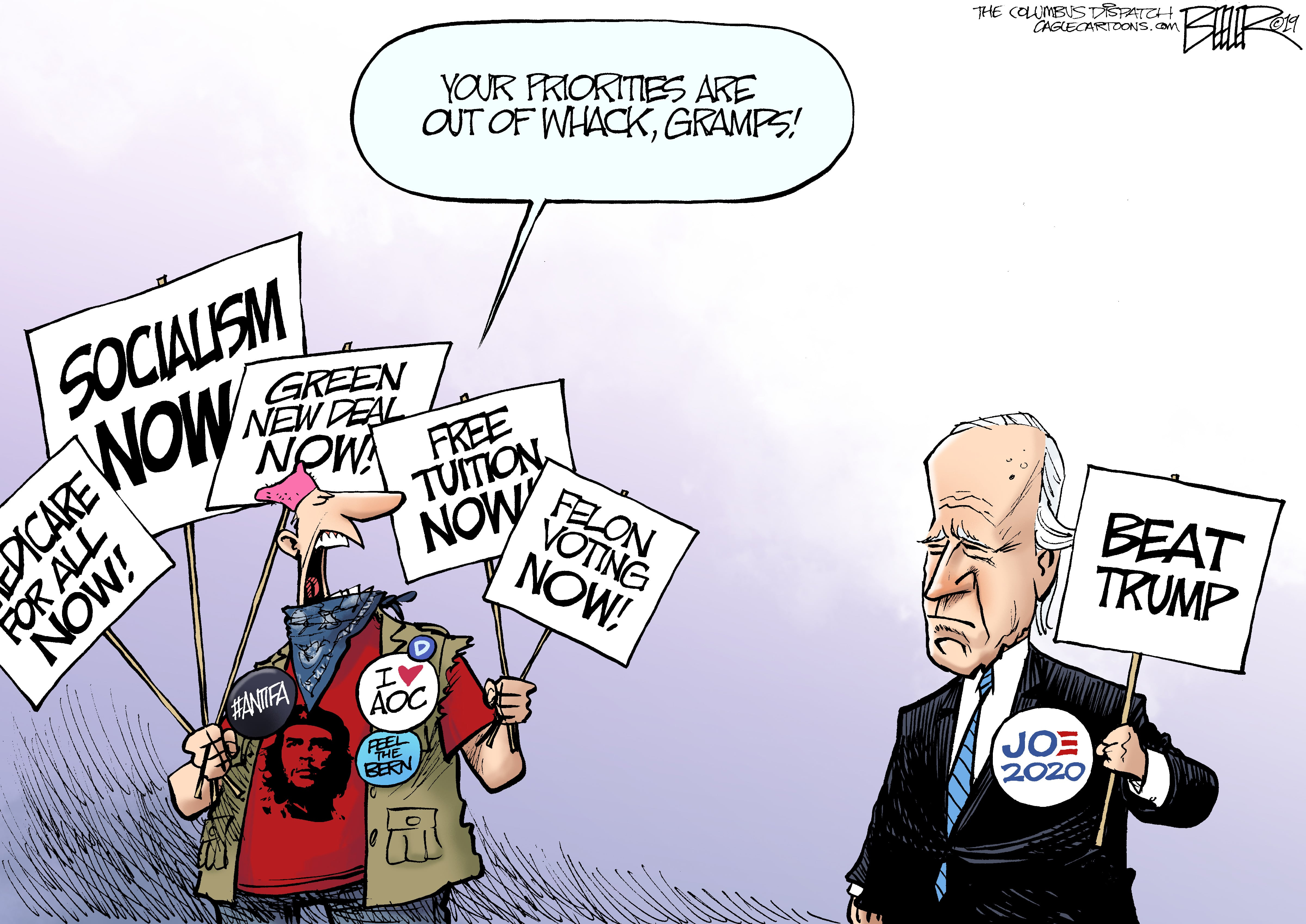 May 18: Biden Priorities