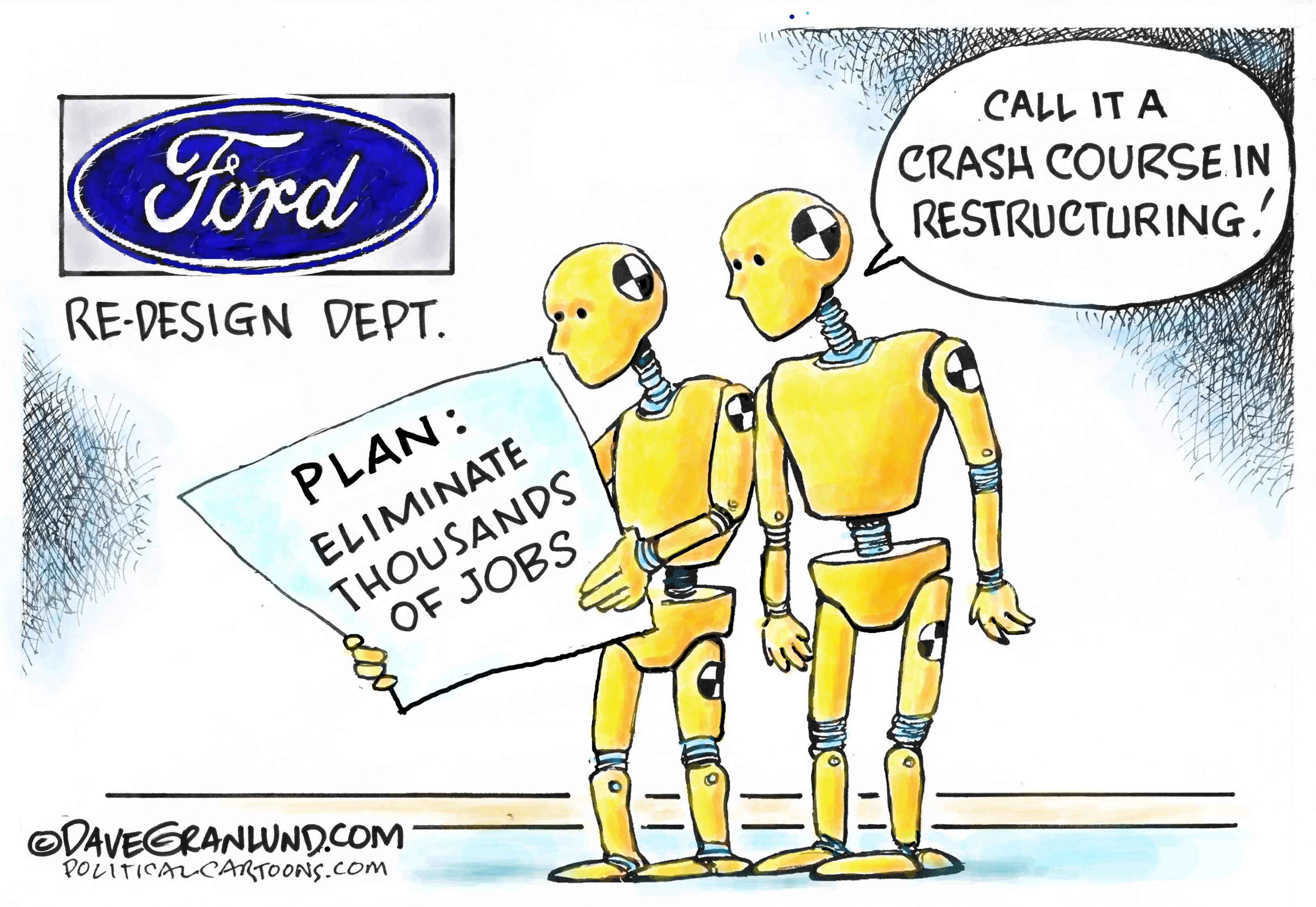 May 25: Ford Restructure