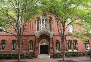 Georgetown Visitation Preparatory School is the only all-girls Catholic school in Washington, D.C. M