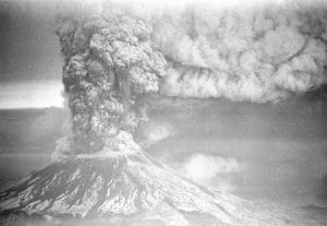 Mount St. Helens explosion 1980