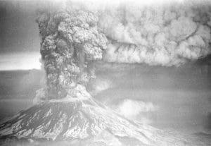 Mount St. Helens explosion 1980