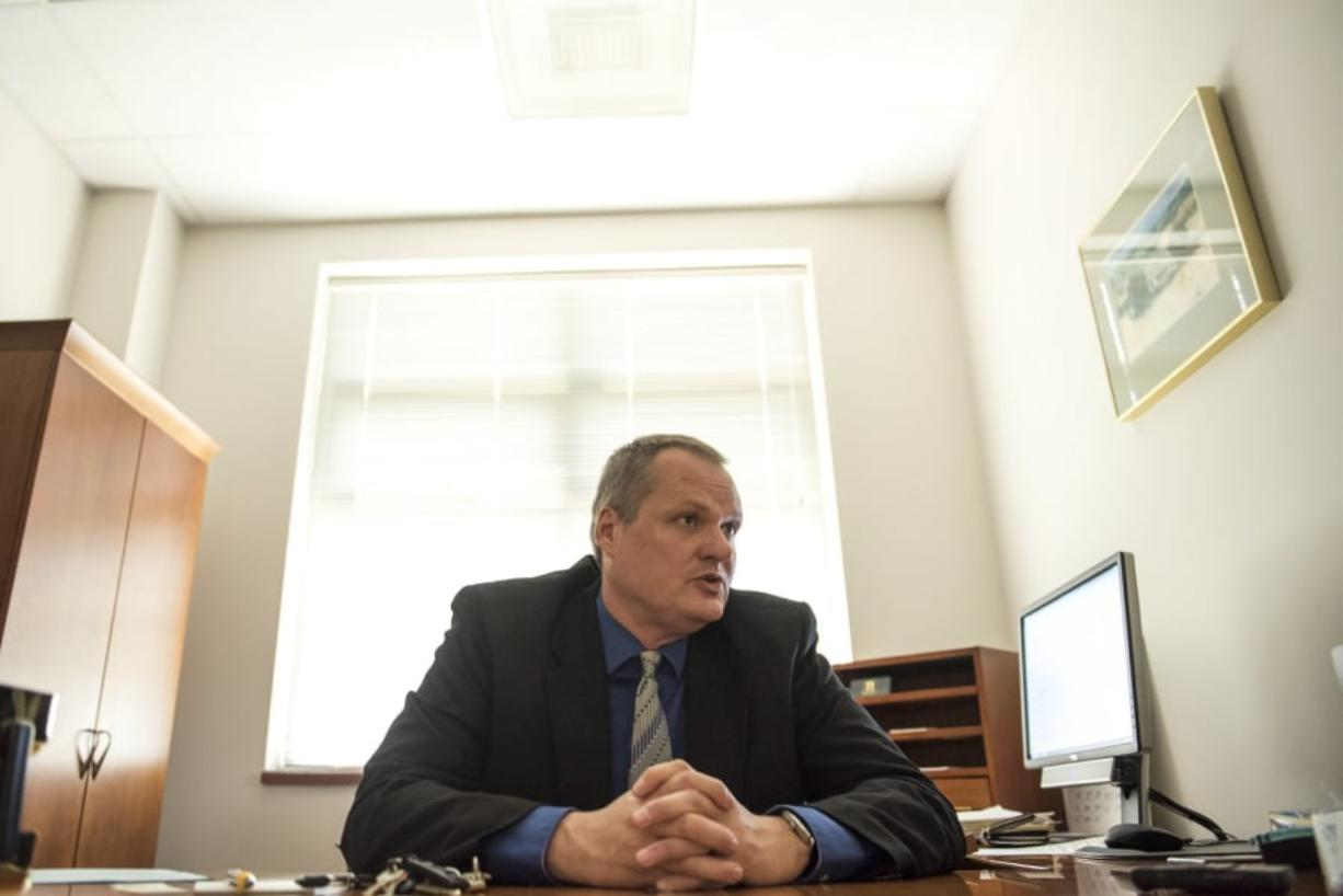 Shawn Henessee County manager