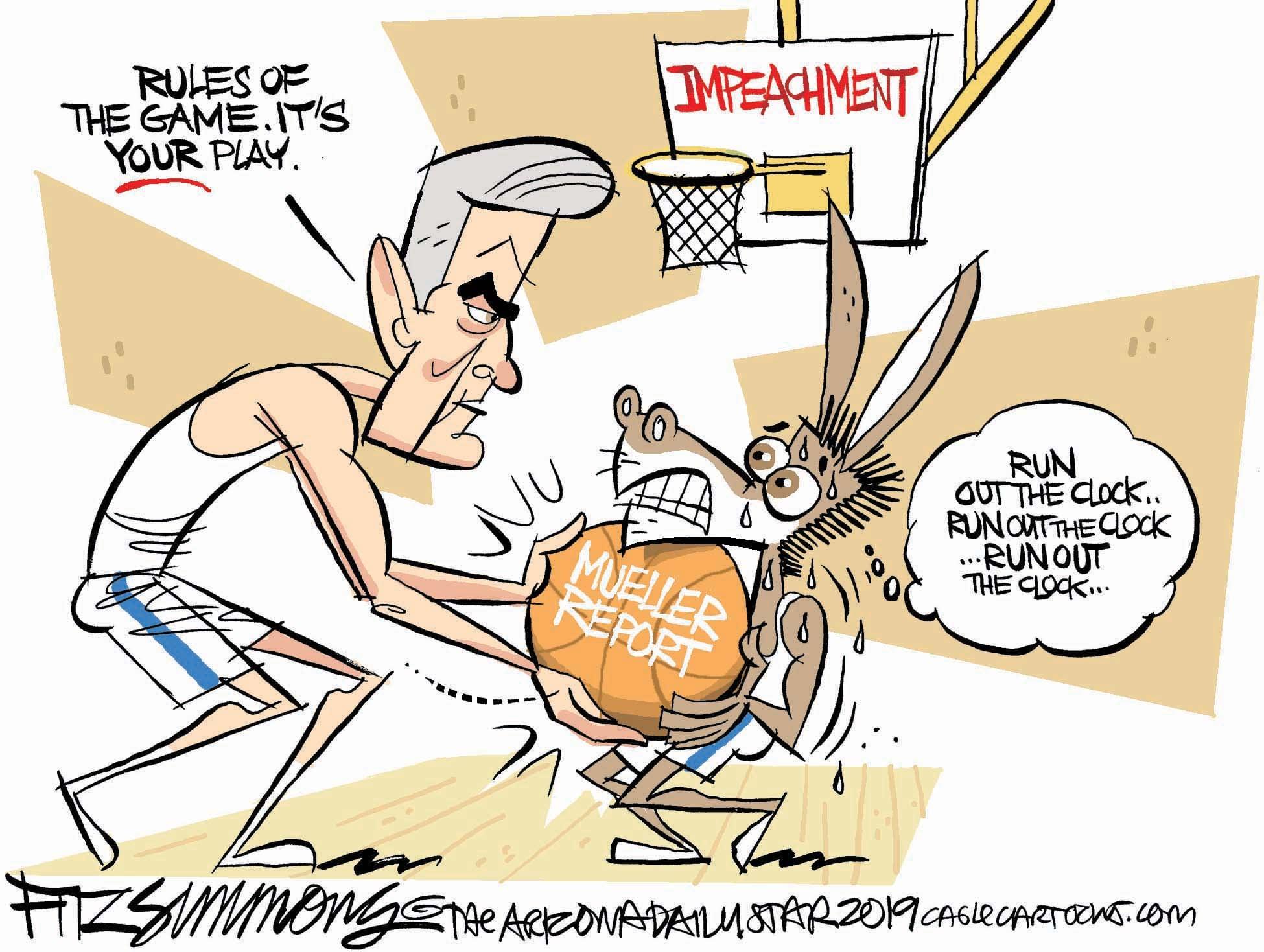 June 1: Mueller's Move