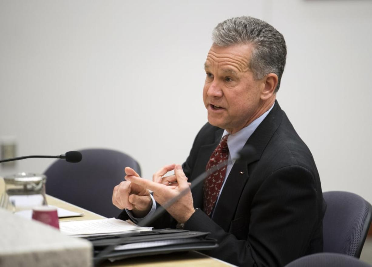 Gary Medvigy has filed to run for the seat on the Clark County Council that he was appointed to in January. (The Columbian files)