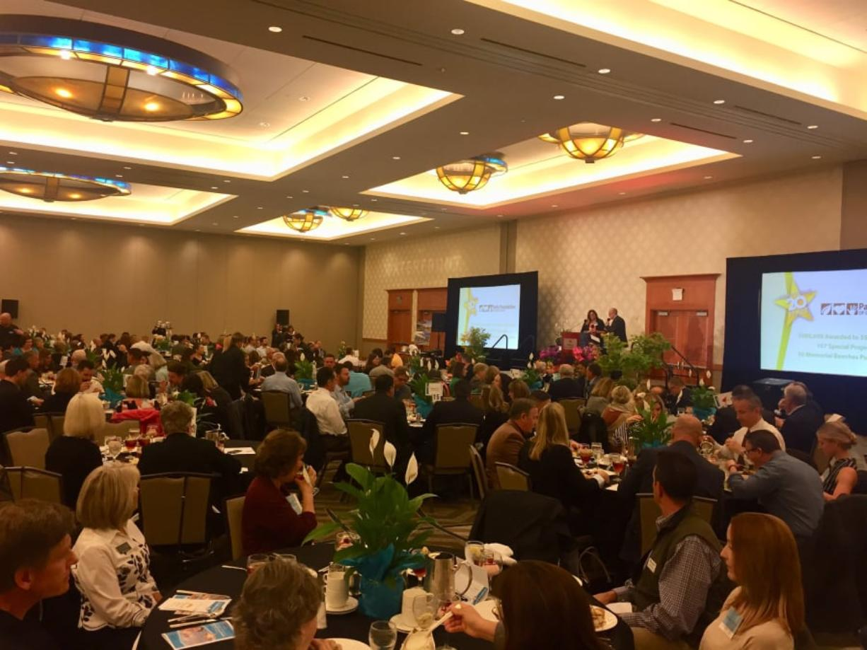 More than $70,000 in grants for local parks and recreation programs were presented at Tuesday's annual Parks Foundation of Clark County luncheon.