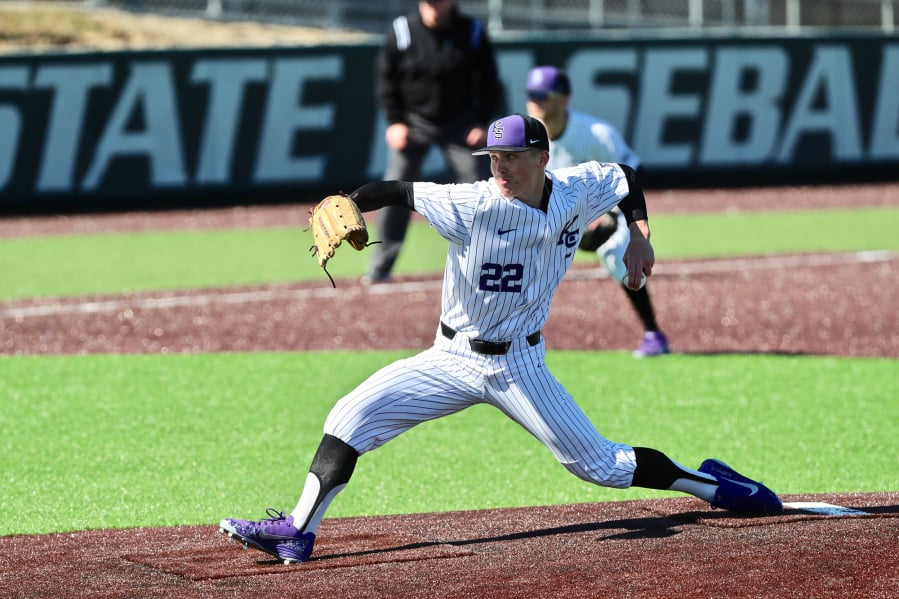 9528161f896 Kansas State University pitcher Joey Martin will spend his summer in  Ridgefield playing for the Ridg