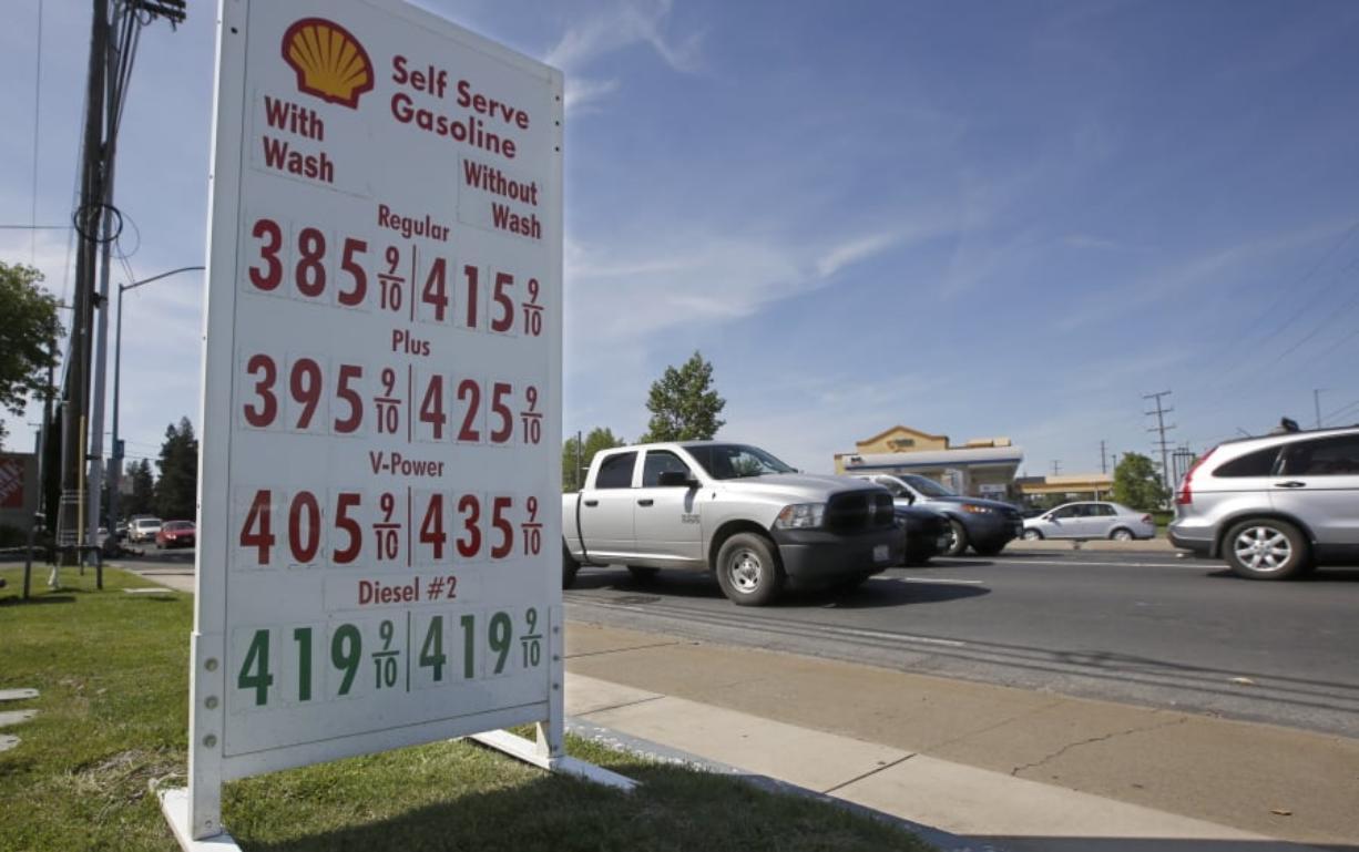 U S  raises forecast for summer gas prices - Columbian com