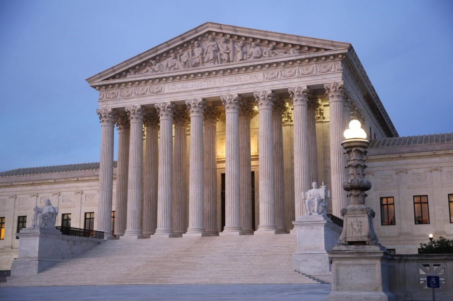 Supreme Court Halts Electoral Map Redrawing In Michigan Ohio The - Us-supreme-court-map