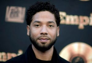 "FILE - In this May 20, 2016 file photo, actor and singer Jussie Smollett attends the ""Empire"" FYC Ev"
