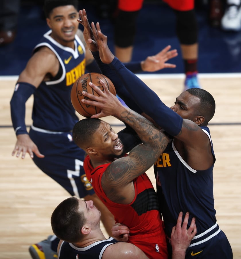 Portland Trail Blazers Basketball: Blazers Rally In 2nd Half To Win Game 7 Over Nuggets, 100