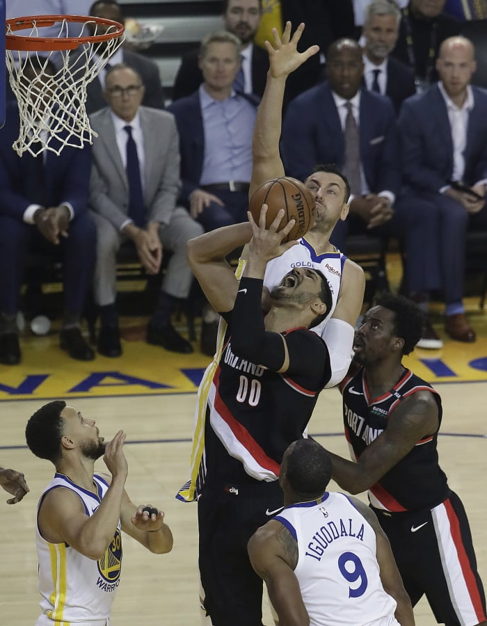 warriors-trail blazers - photo #4