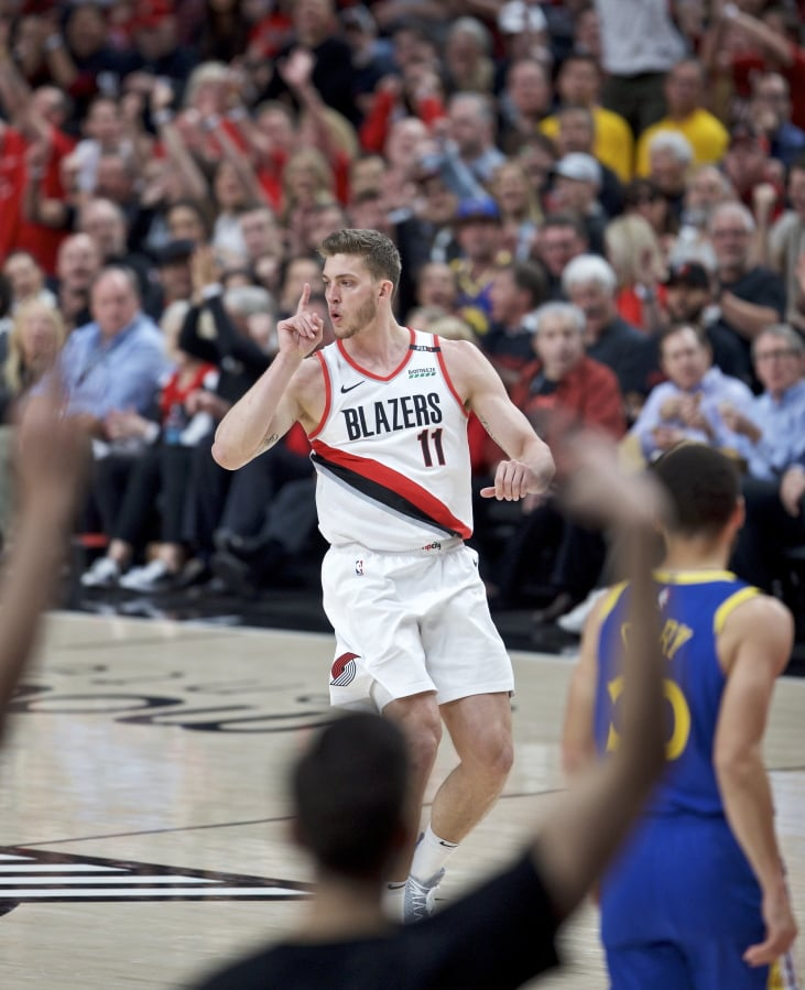 Portland Trail Blazers Basketball: Warriors Beat Blazers For 3-0 Lead In West Finals