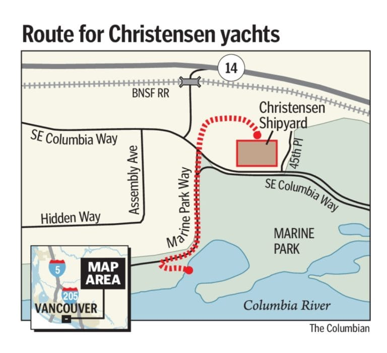 Christensen Shipyards rolls last finished yacht out of