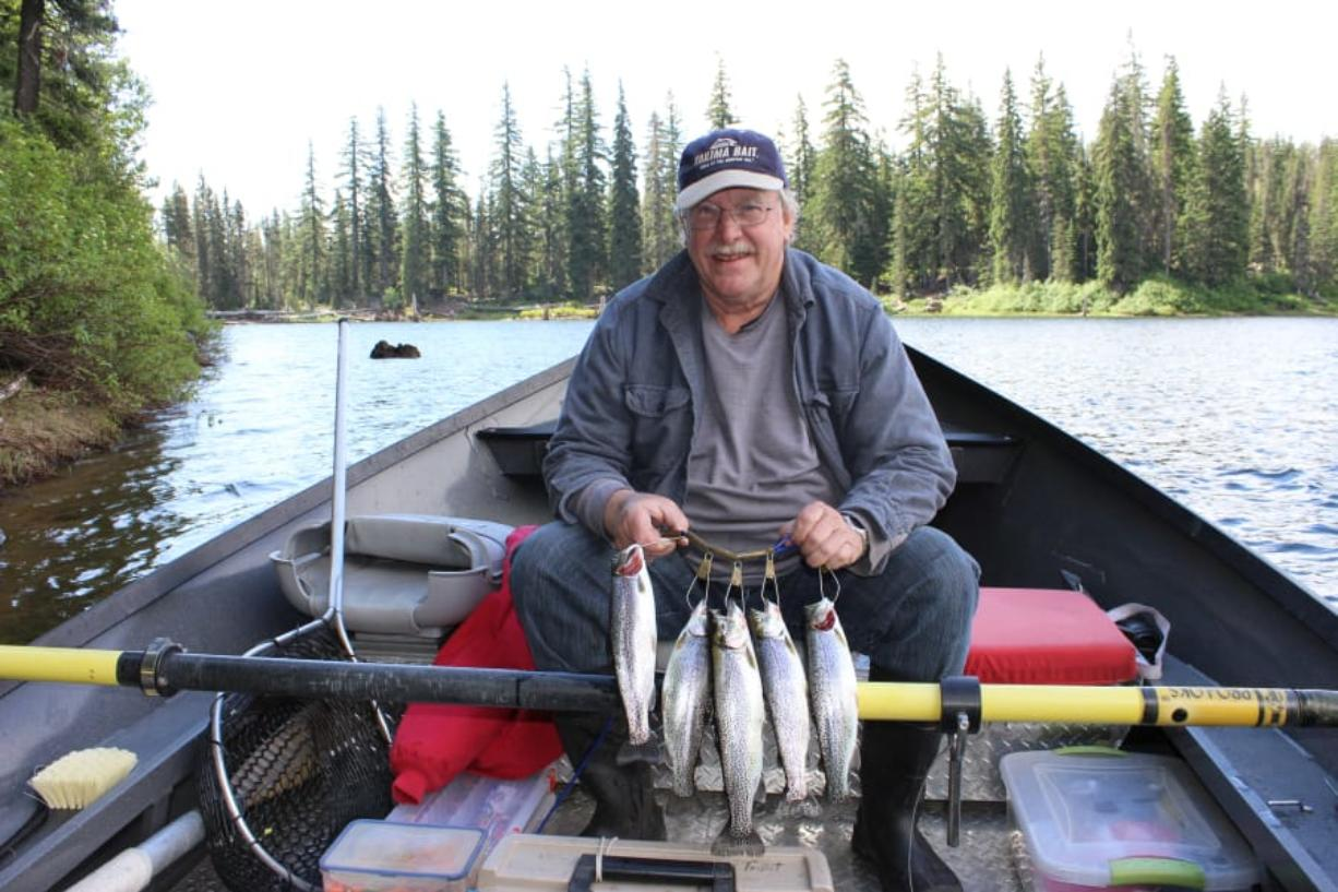 Elevated Level of Success for trout fishing - Columbian com