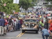 The Great Race comes to Clark County, bringing 120 of the world's best antique automobiles to the WAAAM West car museum on Friday.