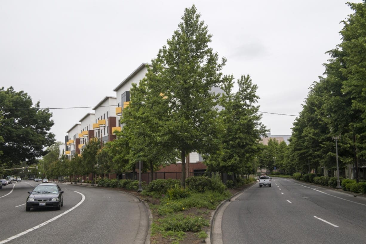 15 West apartments at 410 W. Mill Plain Blvd., were completed in 2017.