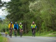 If you're tempted to try one of the Ride Around Clark County's longer loops in late July, sample the ups and downs with a training ride Saturday morning.