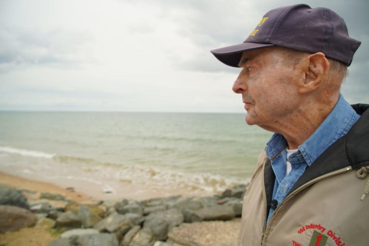For D-Day survivor, a last trip to Omaha Beach? - Columbian com