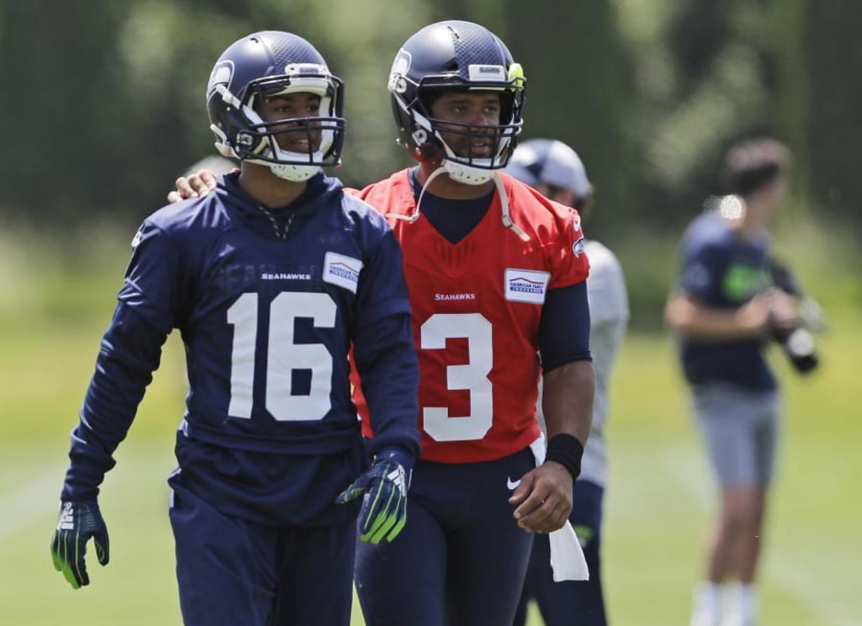 new concept c0464 56c14 Without Baldwin, Lockett takes charge of Seahawks receivers ...