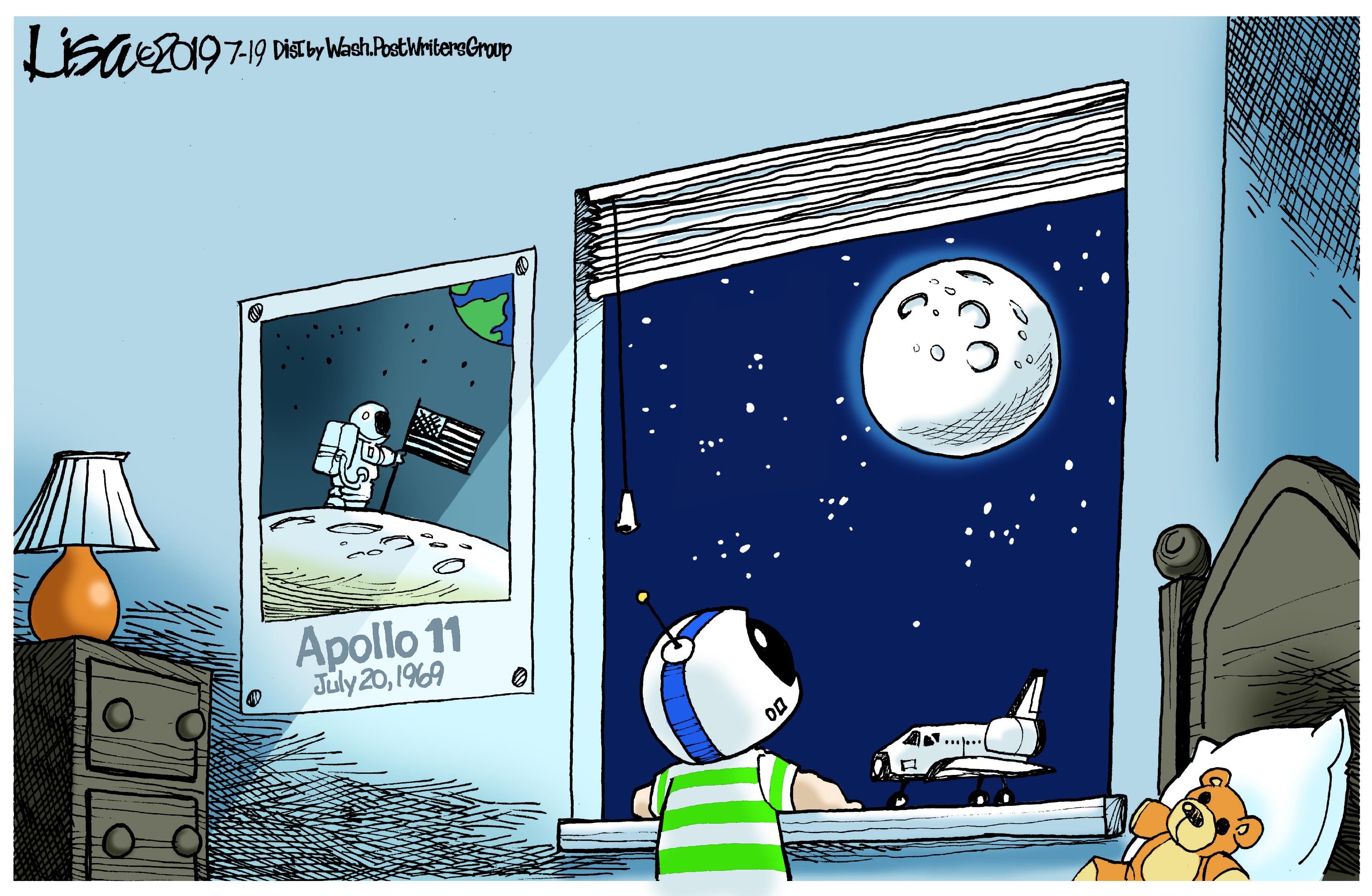 July 20: Apollo 11