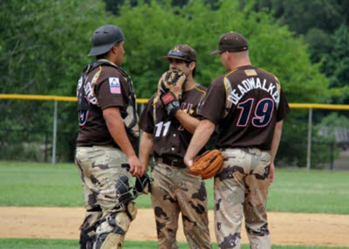 The U.S. Military All-Star baseball team will play games Thursday and Friday in Ridgefield. (Photo courtesy U.S. Military All-Star team)