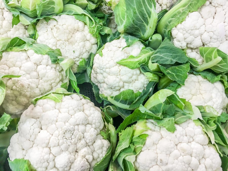 There are more than 100 varieties of cauliflower in the world.