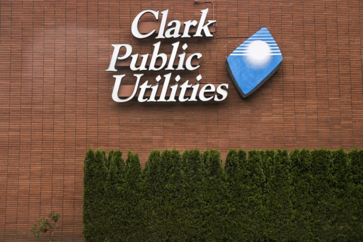 The front of at Clark Public Utilities.