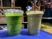 Lovely Day and Get Down on It smoothies by Funky Fresh Juice Co.